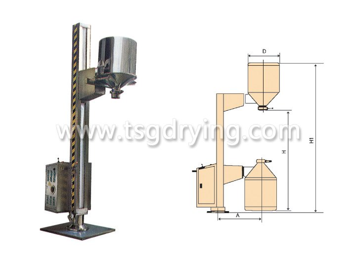TJG Fixed Lifting Feeder